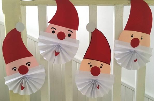 کاردستی کودک+بابانوئل