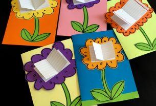 کاردستی دفترچه یادداشت+قصه صوتی