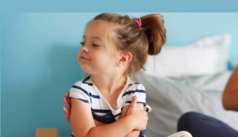 کودک لجباز+قصه صوتی
