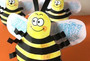 کاردستی زنبورک وز وزی+کاردستی مدرسه