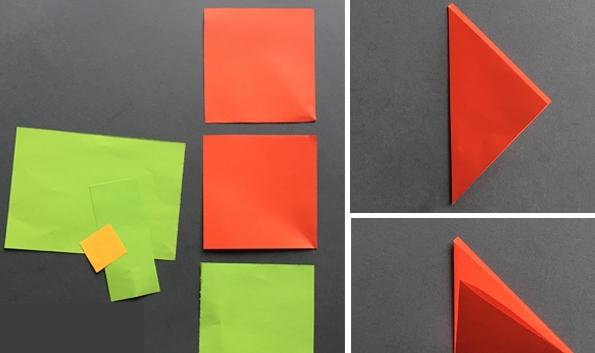 کاردستی 22بهمن+ گل کاغذی