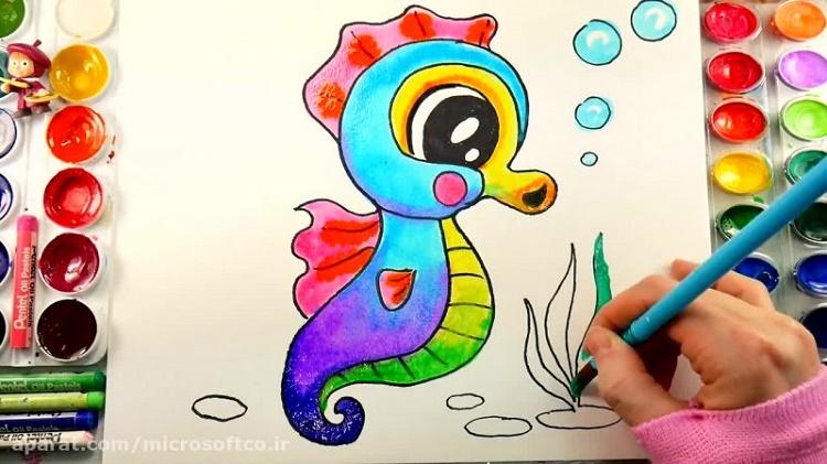 آموزش نقاشی به کودکان+قصه صوتی