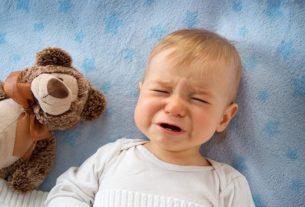 گریه زیاد کودکانه+قصه شب