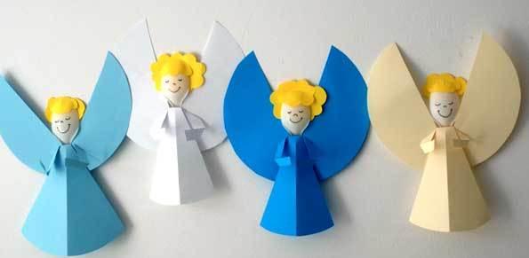 کاردستی مدرسه+ فرشته مهربون