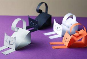کاردستی مدرسه+ گربه نازنازی