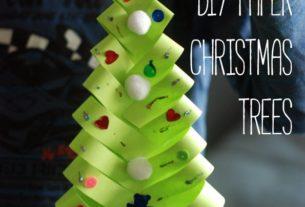 درخت کاج+ کاردستی برای مدرسه