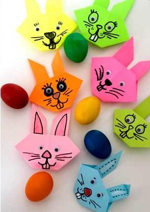 کاردستی مدرسه+آقا خرگوشه