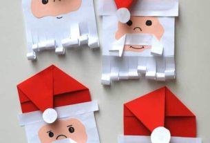 کاردستی مدرسه+ بابا نوئل