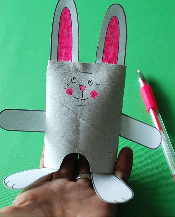 خرگوش بازیگوش+ کاردستی مدرسه