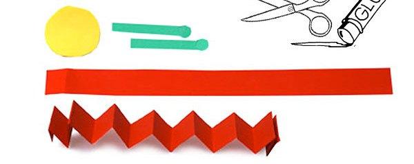 کرم کوچولو+ کاردستی برای مدرسه