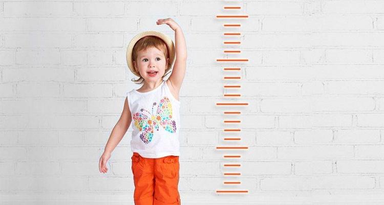 قد و وزن استاندار در کودکان
