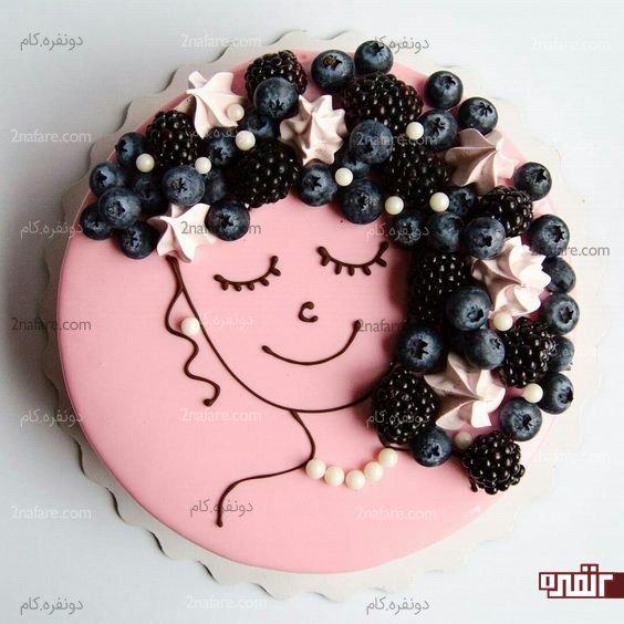 انواع کیک تولد دخترانه