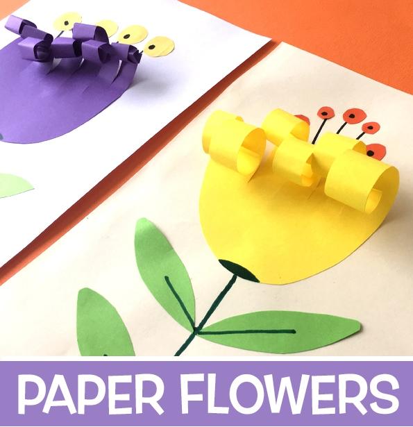 گل کاغذی+ کاردستی بهاره