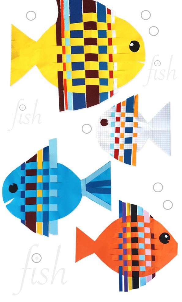 ماهی رنگارنگ+ کاردستی بهاره