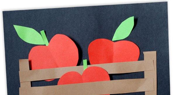 جعبه سیب+ کاردستی بهاری