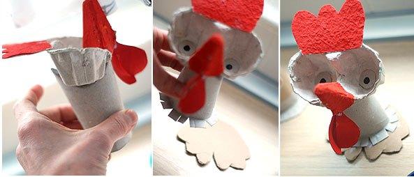مرغ نوک قرمزی+ کاردستی بهاری