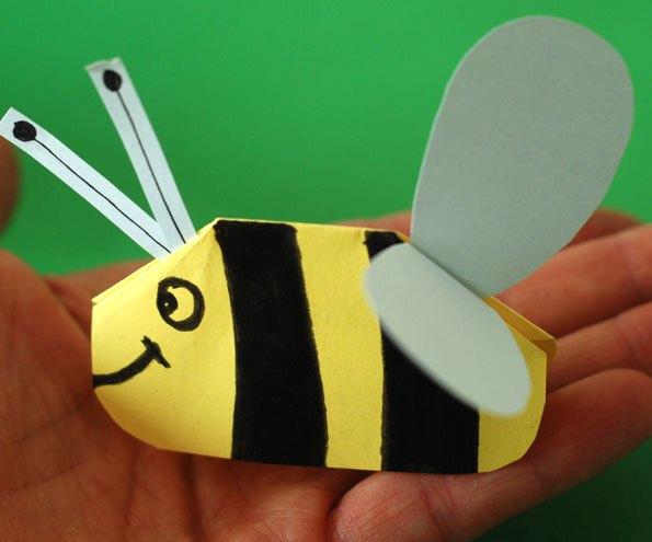 زنبور وزوزی+ کاردستی بهاری