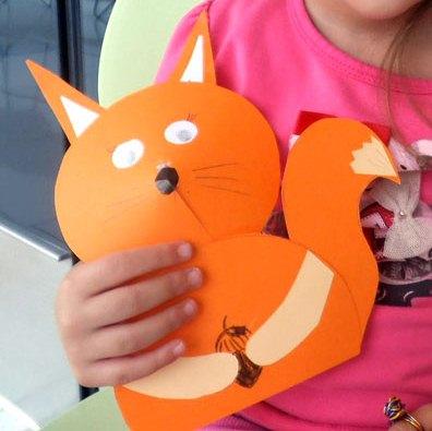گربه ناقلا+ کاردستی بهاری