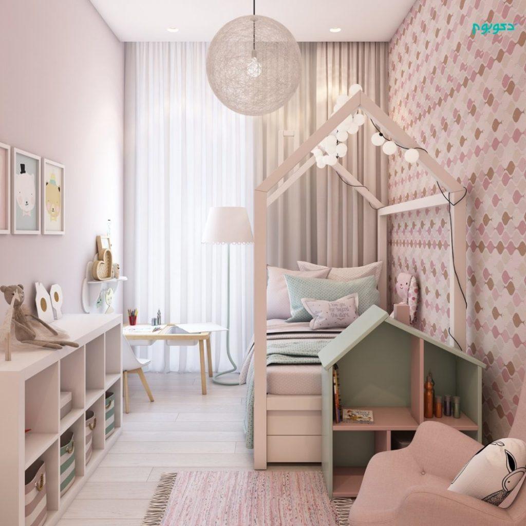اتاق خواب کودک دختر+ قصه صوتی