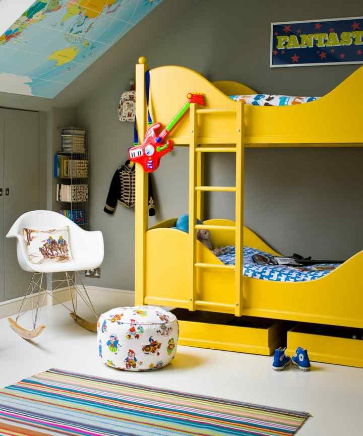 اتاق خواب کودک پسر+ قصه شب