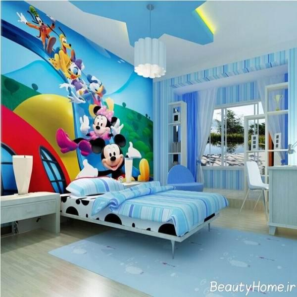اتاق خواب کودک پسر، ویژگی و نمونه ها