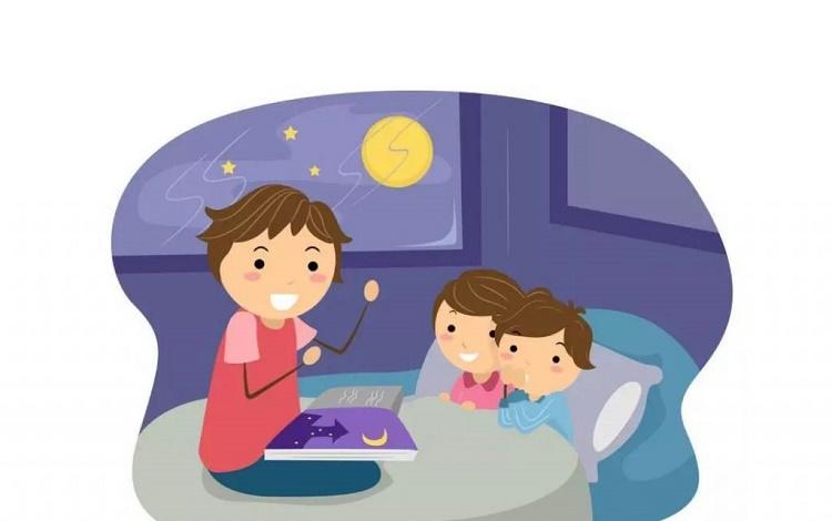 دیر خوابیدن کودک و روش های درمان آن+قصه شبانه