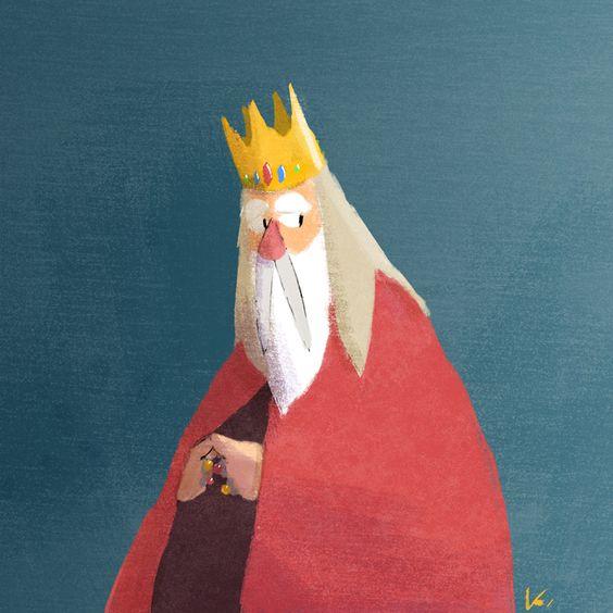 پادشاه و لباس جادویی (قصه کودکانه جهان)