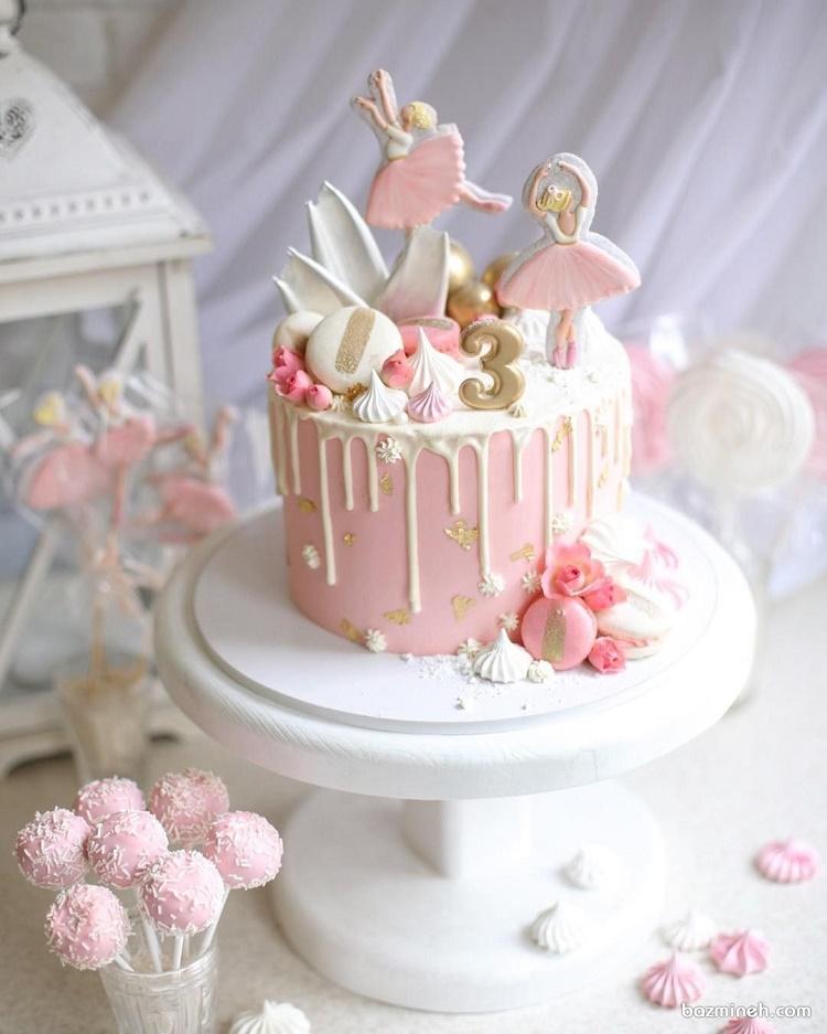 انواع کیک تولد دختران +قصه شب