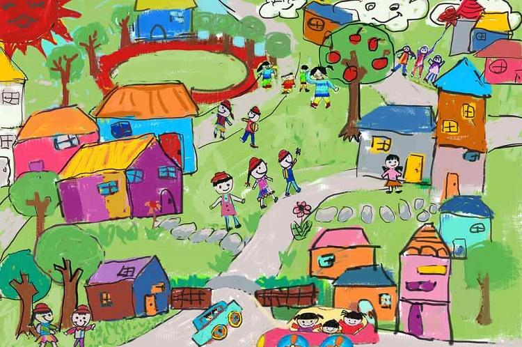 نقاشی کودک و افزایش مهارت های آن + بخش اول