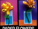 گل زرد+ کاردستی بهاری