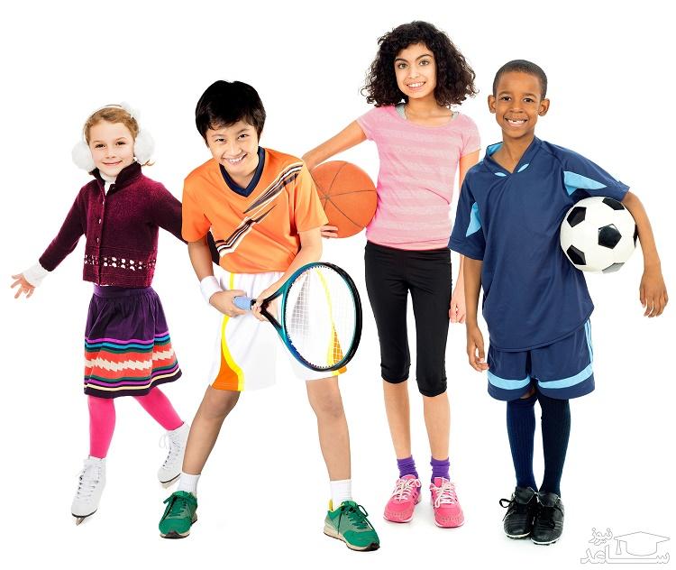 تاثیرات ورزش کردن در کودکان